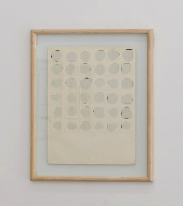 Toni Grand, format peinture, 1970-71, papier Ingres, 84,5 x 69,5 x 2,8 cm © David Huguenin
