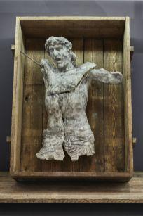 Ugo Schiavi - I was here, 2018 Ugo Schiavi - Tête de lion, 2018 - «Rudus, Ruderis» à la Double V Gallery – Marseille Photo © Jean-Christophe Lett