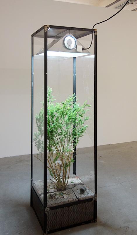 Ugo Schiavi «Rudus-Ruderis», 2017 (fragment de tiers-paysage) -.Exposition Prix des Ateliers d'Artistes de la Ville de Marseille - Fiche de la Belle de Mai