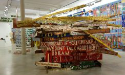 Bob and Roberta Smith -  Activist » à La Panacée - Salle 2 01
