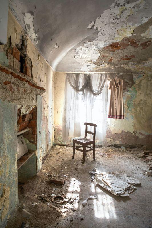 La chambre de la Zia, série Zia Maggiore , 2017, collection de l'artiste © Véronique Ellena, 2018