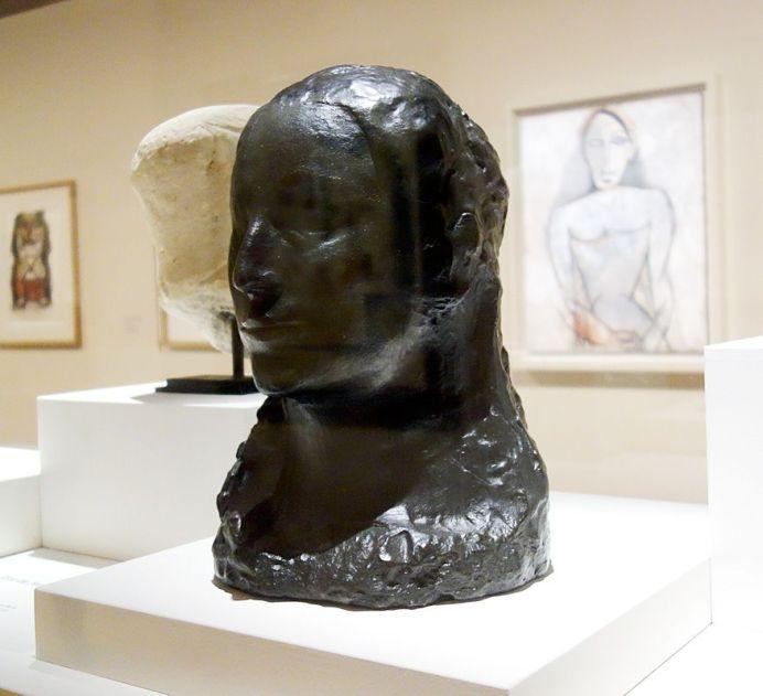 Pablo Picasso, Buste de femme - Fernande, été 1906 - Picasso, voyages imaginaires à la Vieille Charité - Marseille - Afrique fantôme