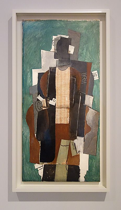 Pablo Picasso, Homme à la pipe, [Paris], [printemps 1914] - Picasso - Donner à voir au Musée Fabre