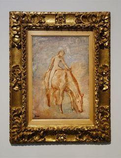 Pablo Picasso, Jeune Garçon nu à cheval, [Avant l'été] 1906 - Picasso - Donner à voir au Musée Fabre