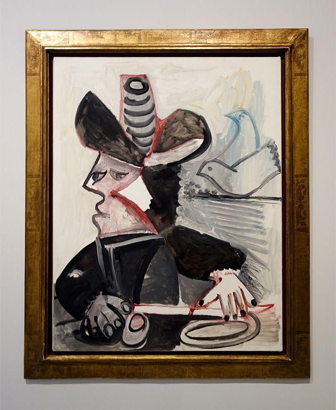 Pablo Picasso, Mousquetaire aux oiseaux, 13 janvier 1972 - Picasso - Donner à voir au Musée Fabre