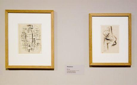 Pablo Picasso, Nature morte ovale à la pendule et Moissonneur, été 2012 - Picasso, voyages imaginaires à la Vieille Charité - Marseille - Horta - Sorgues – Marseille