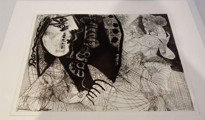 Pablo Picasso, Sans titre, VIIe état, dernier état, 1-5 mars 1972 - Picasso - Donner à voir au Musée Fabre