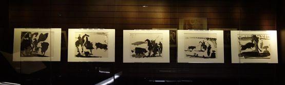 Pablo Picasso, Toros, 1961- Présentation à l'Hôtel de Cabrières-Sabatier d'Espeyran 02