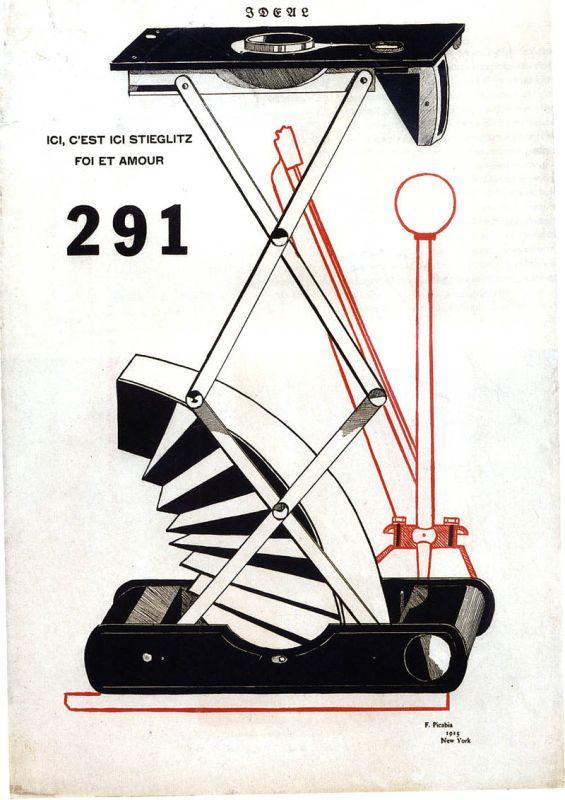 Picabia, Ici, c'est Ici Stieglitz, foi et amour - 291 No 5-6, 1915