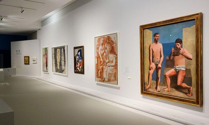 Picasso - Donner à voir au Musée Fabre - Vue de l'exposition