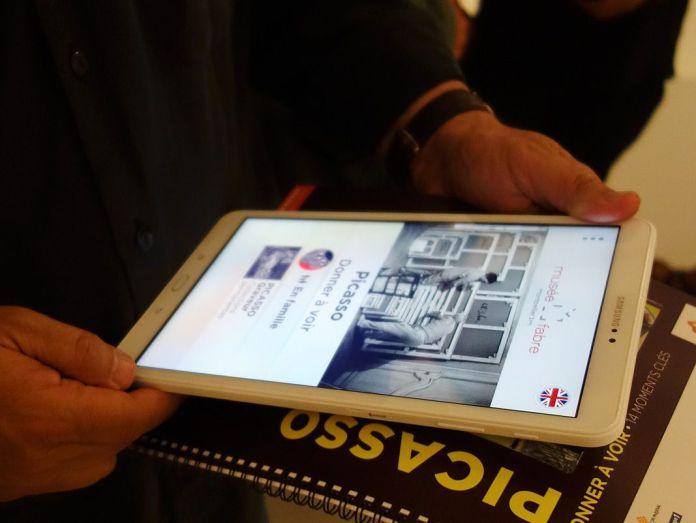 Picasso - Donner à voir au Musée Fabre - Application numérique