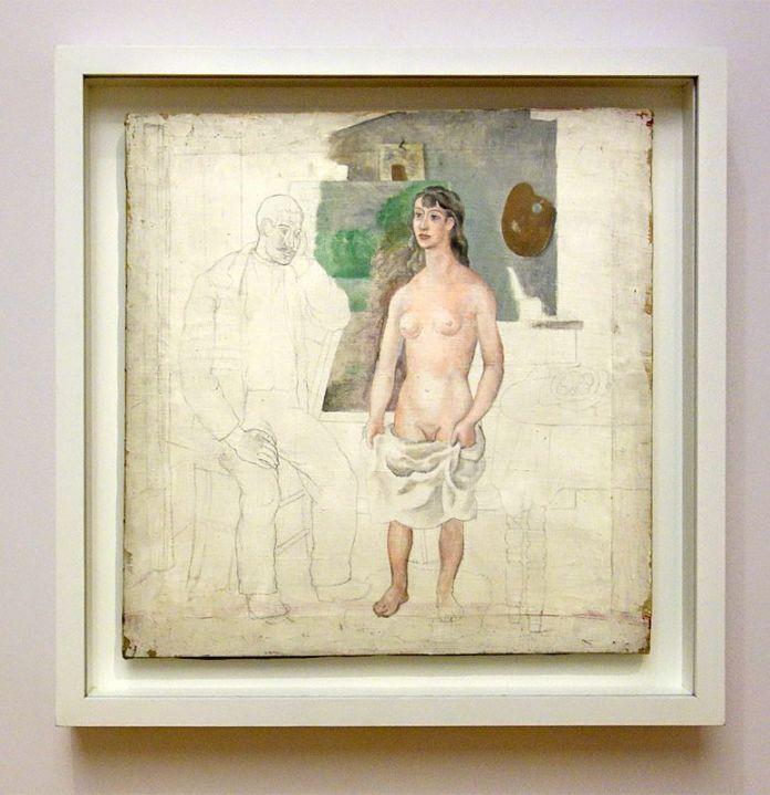 Picasso, Le peintre et son modèle, Avignon été 1914 - Exposition Picasso Picabia – La Peinture au défi au musée Granet - Classicisme et machinisme