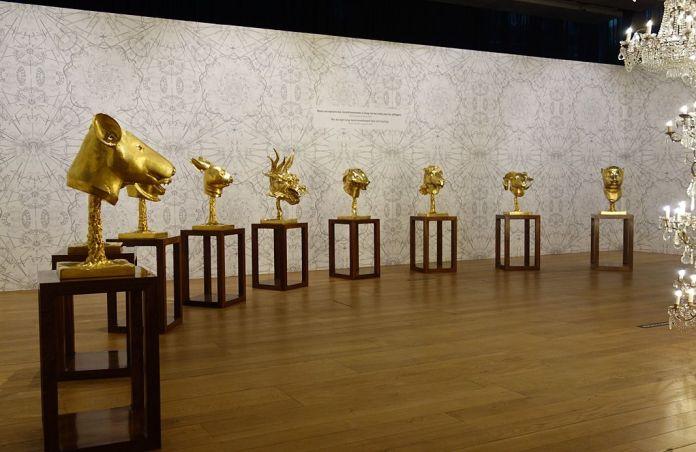 Ai Weiwei, Cercle d'animaux, 2011 – Exposition Fan-Tan au Mucem