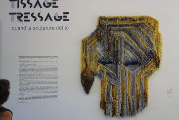 Caroline Achaintre, Brutus, 2016 - Tissage - Tressage..
