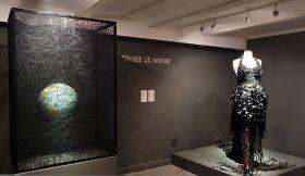 Chiharu Shiota et Stéphanie-Maï Hanuš - Exposition Tissage - Tressage à la Villa Datris - Tisser le monde