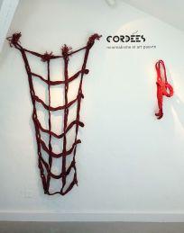 Christian Jaccard et Judy Tadman - Exposition Tissage - Tressage à la Villa Datris - Cordées