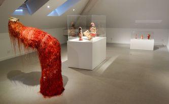Exposition Tissage - Tressage à la Villa Datris - Folie du fil