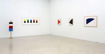 Ligne Forme Couleur - Ellsworth Kelly (1923-2015) dans les collections françaises à la Collection Lambert - Salle 07