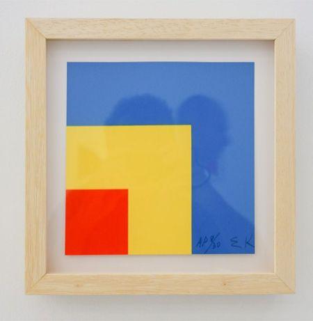 Ligne Forme Couleur - Ellsworth Kelly (1923-2015) dans les collections françaises à la Collection Lambert - Salle 07 - Rouge, Jaune, Bleu, 1999