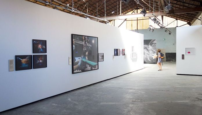 Matthieu Gafsou - H+ aux Rencontres Arles 2018 - 3 Homme machine- Vue de l'exposition