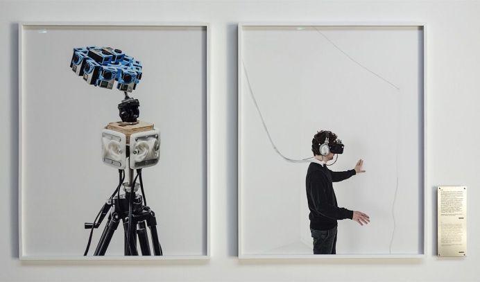 Matthieu Gafsou - H+ aux Rencontres Arles 2018 - 4 Avatar - Vue de l'exposition 4-4