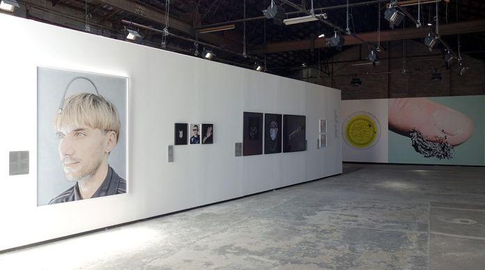 Matthieu Gafsou - H+ aux Rencontres Arles 2018 - 5 Biohacking - Vue de l'exposition