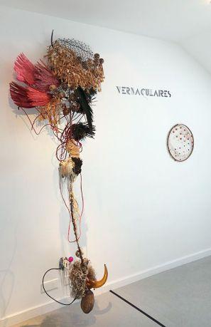 Rina Banerjee et Patrick Saytour - Exposition Tissage - Tressage à la Villa Datris - Vernaculaire