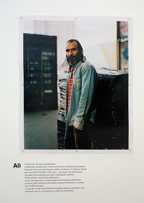 Ali - Des sneakers comme Jay-Z - portraits et paroles d'exilés aux Rencontres Arles 2018
