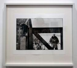 René Burri, La Seine gelée près de Paris (Cartier Bresson à droite), 1956 - Les pyramides imaginaires aux Renconres Arles 2018
