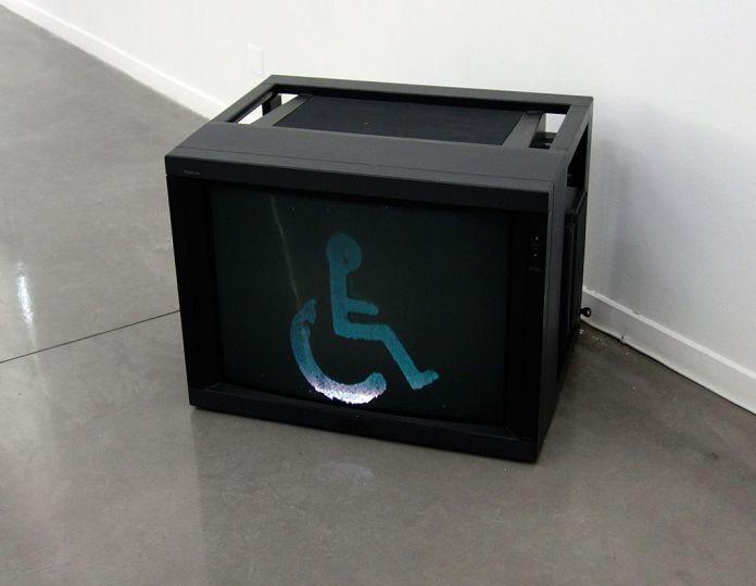 Stephen Willats, A progression of signs (rue Rebeval), 2009 - La complainte du progrès au MRAC - Vue de l'exposition