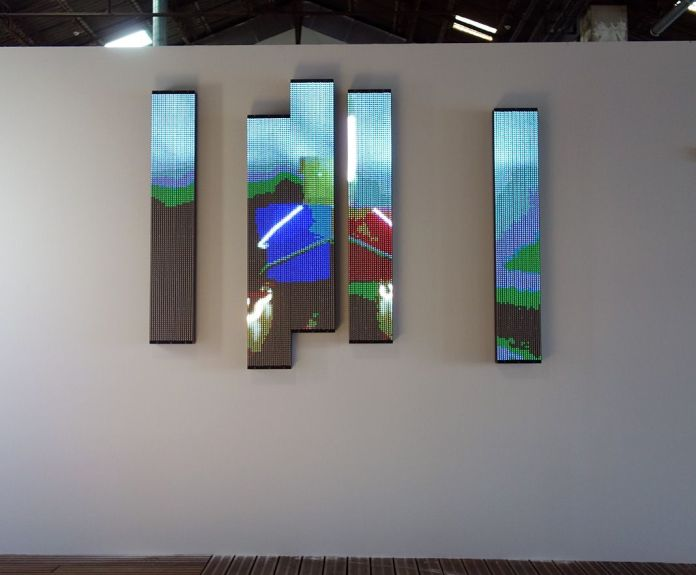 Art-O-Rama 2018 - Delta assurances - Diane Guyot de Saint Michel - Salle de conférence 2018