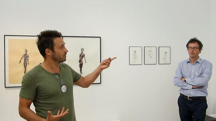 Drawing room 018 à La Panacée - Montpellier - Galerie Dupré & Dupré - Lionel Sabatté