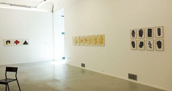 Drawing room 018 à La Panacée - Montpellier - Galerie AL/MA - François Bouillon