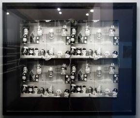 Andy Warhol, Vitrines, 1976-1986 - Cabinet graphique - Isabelle Cornaro - exposition Blue Spill au Mrac -Sérignan