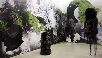 Haegue Yang - Traversée Chronotopique à La Panacée - vue de l'exposition