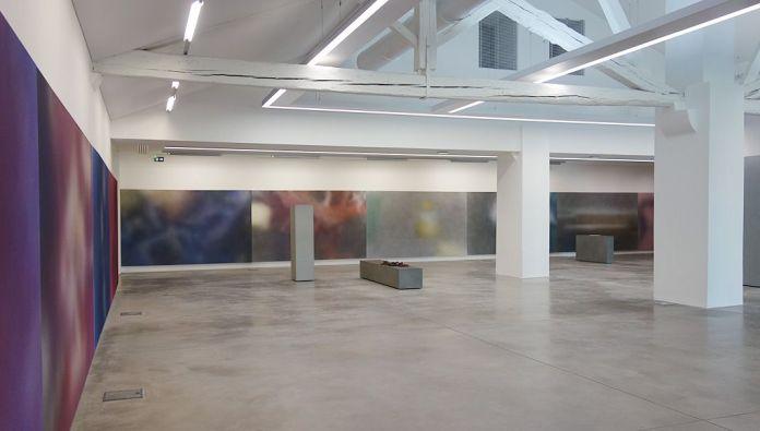 Isabelle Cornaro - Blue Spill au MRAC - Sérignan