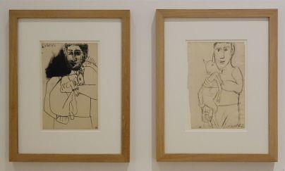 Picasso - Études pour L'Homme au mouton, 15 juillet 1942 et 16 juillet 1942