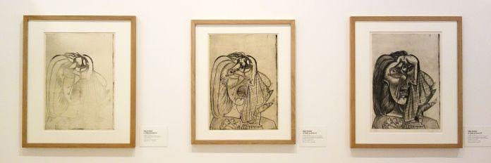 Picasso - La Femme qui pleure II, III et VII, 1er juillet 1937