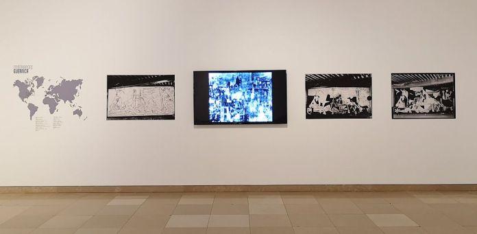 Picasso - Le temps des conflits - Carré d'Art - Nîmes - Vue de l'exposition - Salle 1 : à propos de Guernica