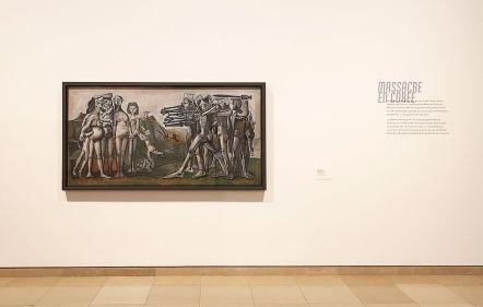 Picasso - Le temps des conflits - Carré d'Art - Nîmes - Vue de l'exposition - Salle 3