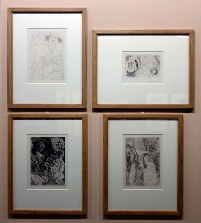 Picasso - Suite Vollard - exposition au Musée Fabre - Rembrandt