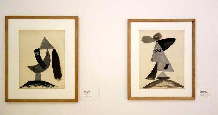 Picasso - Tête de femme, 10 juin 1940 et Femme au chapeau, 30 mars 1943