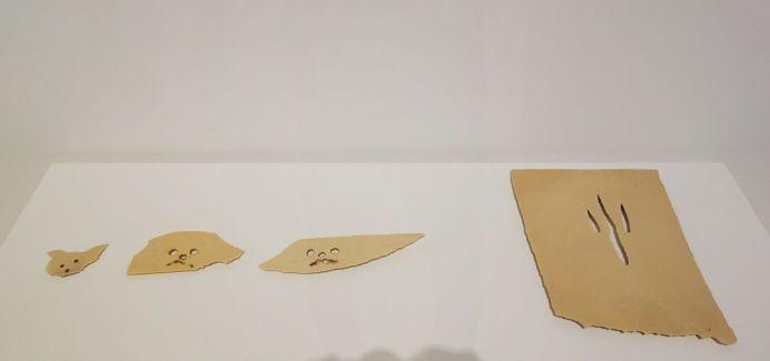 Picasso - Têtes de chien et griffes, 1943