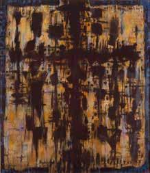 Alfred Manessier Passion selon saint Marc 1986 Peinture à l'huile sur toile 230 x 200cm Musée des beaux-arts de Sion, Suisse © ADAGP, Paris2018