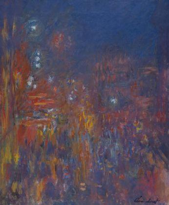 Claude Monet Leicester Square 1901 Huile sur toile 80,5 x 64,8cm Coll. Fondation Jean et Suzanne Planque (en dépôt au Musée Granet, Aix-en-Provence)