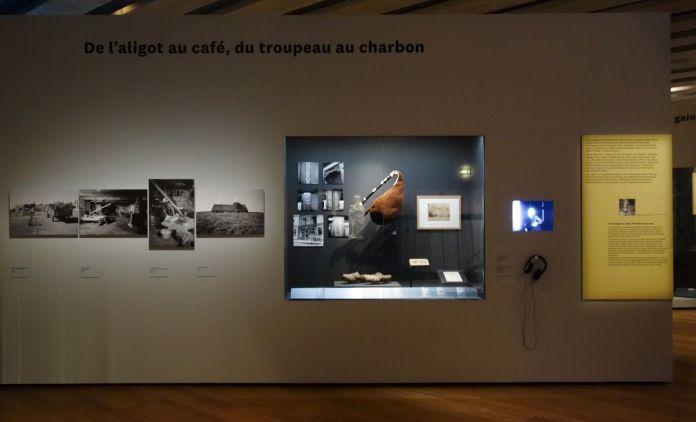 Georges Henri Rivière Voir, c'est comprendre au Mucem - De l'aligot au café, du troupeau au charbon - Vue de l'exposition
