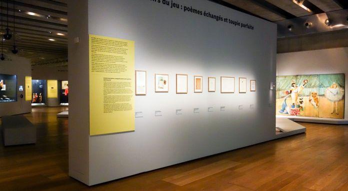 Georges Henri Rivière Voir, c'est comprendre au Mucem - Plaisirs du jeu poèmes échangés - Vue de l'exposition