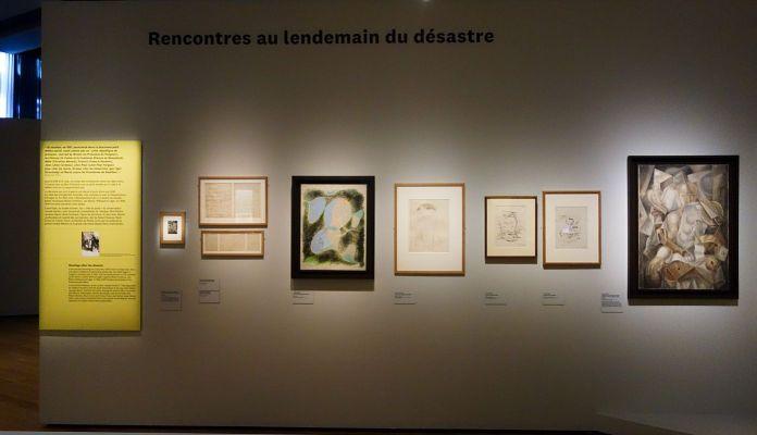Georges Henri Rivière Voir, c'est comprendre au Mucem - Rencontres au lendemain du désastre - Vue de l'exposition
