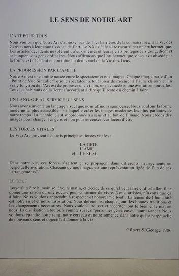 Gilbert & George, The Great Exhibition, 1971-2016 - Luma Arles - Vue de l'exposition à la Mécanique Générale 06
