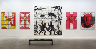 Gilbert & George, The Great Exhibition, 1971-2016 - Luma Arles - Vue de l'exposition à la Mécanique Générale 17